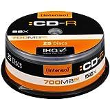 Intenso CD-R 700Mb 52x  (25 discos)