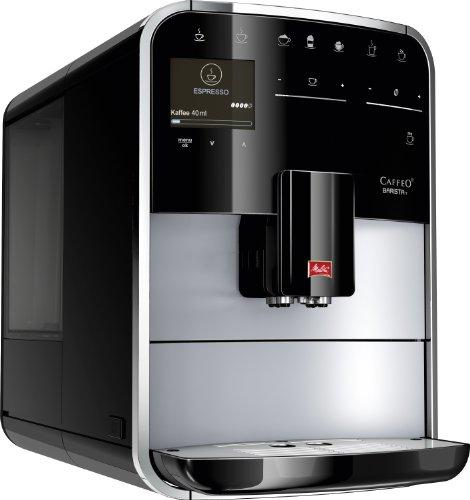 Melitta F 731-101 Premium Kaffeevollautomat Caffeo Barista T (Cappuccinatore) silber/schwarz thumbnail