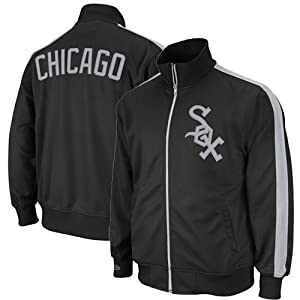 MLB Chicago White Sox Pinch Hitter Track Jacket Mitchell Ness Cooperstown 3XL by Mitchell & Ness