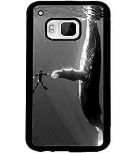 ColourCraft Underwater Image Design Back Case Cover for HTC ONE M9