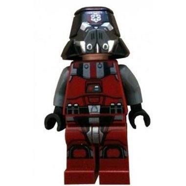 LEGO Star Wars: Sith Trooper Red Minifigure - 1