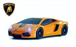 Lamborghini Aventador Wireless Mouse (Orange)