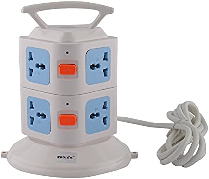 Zebion-Pure-Power-JETTY-7-Socket-2-USB-ports-Extension-Strip