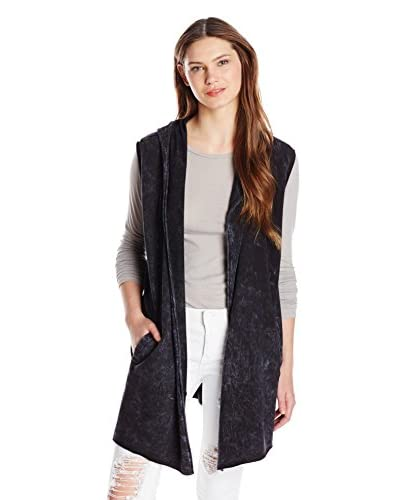 Three Dots Women's Hooded Vest