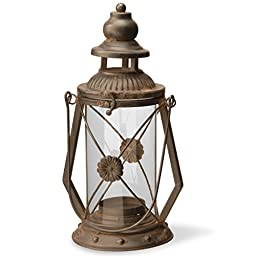 National Tree Garden Accents Iron Lantern, 13\
