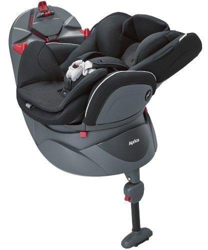 アップリカ フラディア ノーブルブラック 回転式&ベッド型チャイルドシート  (ヒップインナーシート付き) 93085