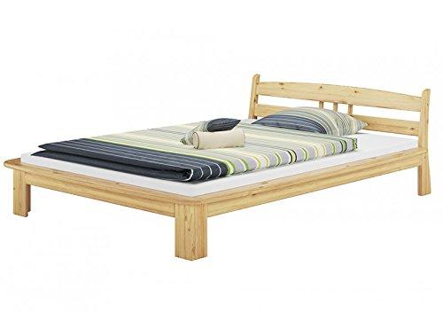 60.60-14 M Bett 140x200 cm, kompl. mit Rollrost und Matratze, Futonbett