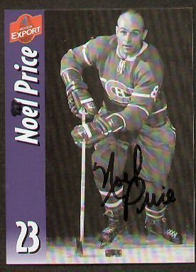 noel-price-signed-autographed-molson-export-card