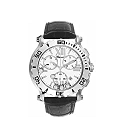 Chopard Women's 28/8499-3001 Happy Sport Round Chronograph Watch from MUSIC TRADE