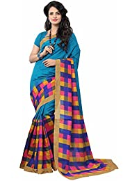 Sunaina Women'S Bhagalpuri Silk Saree (Sarwom8903,Multicolor ,Free Size)