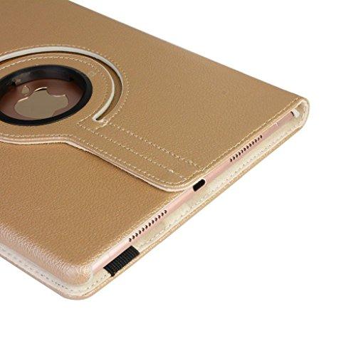 Nouveau-design-tui-housse-en-cuir-PU-avec-support-rotatif--360--pour-iPad-Air-or