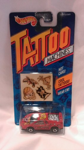Hot Wheels Tattoo Machines Road Pirate 1992 - 1