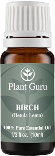 Birch (Sweet) Essential Oil. 10 ml. 100% Pure, Undiluted, Therapeutic Grade.