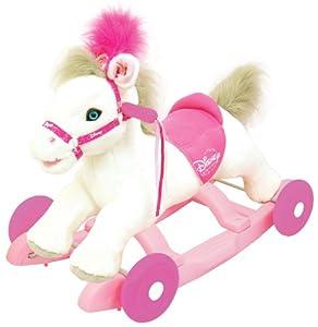 Disney Princess 2-in-1 Pony Rocker Ride On by Kiddieland