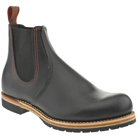 Red Wing Chelsea - 9 Uk - Black - Leather
