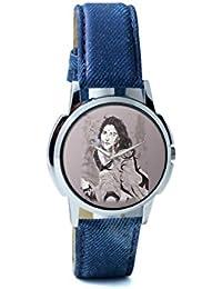BigOwl Vidya Balan Painting Analog Men's Wrist Watch 2204826126-RS1-W-BLU