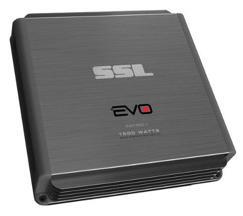 Ssl Evo1500.1 - 1500 Watt Monoblock, Class A/B, 2-8 Ohm Stable Amplifier With Remote Subwoofer Level Control