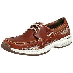 Dunham  Men\'s Captain Boat Shoe,Brown,18 D (M)