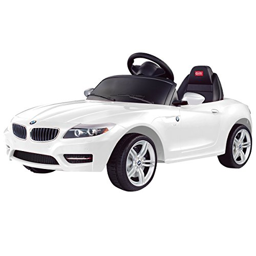 costzon bmw z4 licensed 6v electric kids ride on car rc remote control mp3 led lights little kid cars
