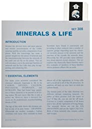American Educational Microslide Minerals and Life Lesson Plan Set (Box of 15)