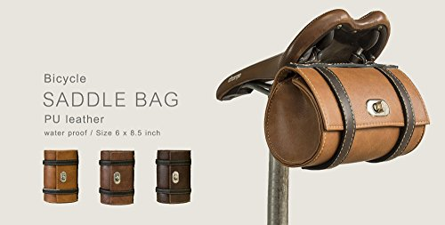 Hazel Design - Vintage Bicycle Saddle Tools Bag 6