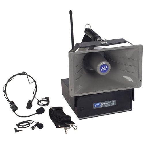 Amplivox Genuine Uhf Wireless Half-Mile Hailer