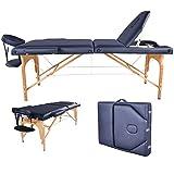 BestMassage Black Reiki Portable Massage Table, have the same table in Burgundy, Cream, Blue, Purple