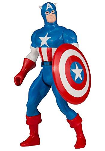 Gentle Giant Studios Marvel Super Heroes Secret Wars Captain America Jumbo Action Figure