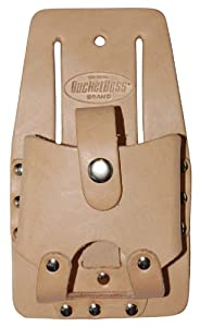 Bucket Boss 55126 Top Grain Leather Measuring Tape Holder by Bucket Boss