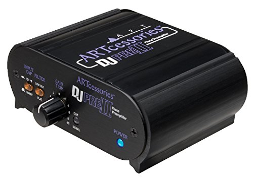ART Pro Audio DJPRE II Phono Turntable Preamplifier (Turntable Preamp compare prices)