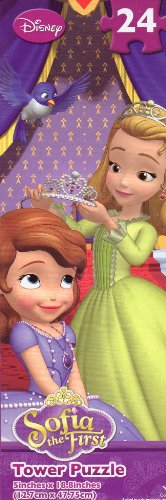 Disney Sofia the First #3 - 24 Pc Tower Jigsaw Puzzle