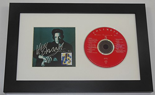 Harry Connick Jr. 25 Signed Autographed Music Cd Compact Disc Cover Framed Display Loa