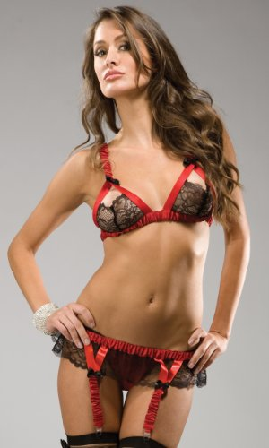 Forplay Crush - Elaborate Lace Lingerie Set By Forplay