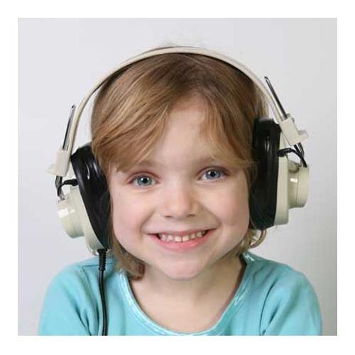 Califone 4-position Wireless Listening Center, 72.1mHz Frequency, Yellow (Listening Center Califone compare prices)