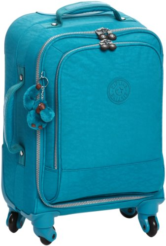 Awesome Kipling Unisex Adult Yubin Spin 55 Canvas And Beach Tote Bag, Turquoise