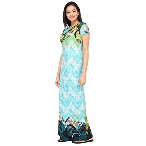 53% OFF on Eazy Women s Hosiery Cotton Nighty Full Gown Sleepwear Soft  Ladies Nightwear Robe Girls Long Plain Wrap Female Intimates on Amazon  7ef71fe04