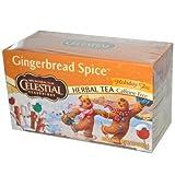 Celestial Seasonings Holiday Tea Gingerbread Spice Herb Tea, 20-count (Pack of 6)