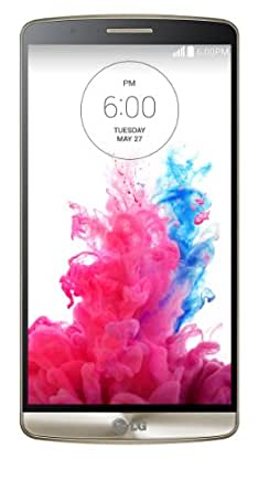 LG G3 UK SIM-Free Smartphone - Gold (Android, 5.5-inch, 16GB)