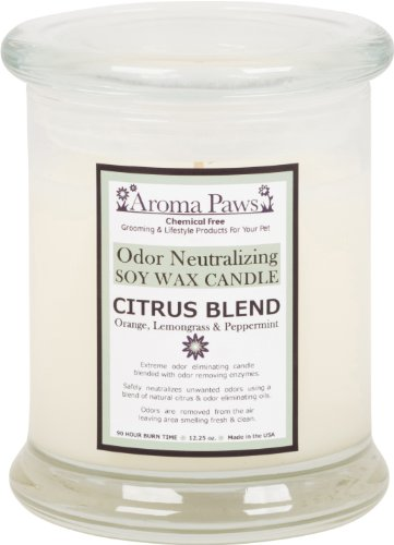 Aroma Paws Odor Neutralizing Candle Citrus Blend