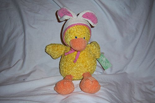 RUSS CHICK-A-DEE DUCK BUNNY HAT PLUSH DOLL TOY M - 1