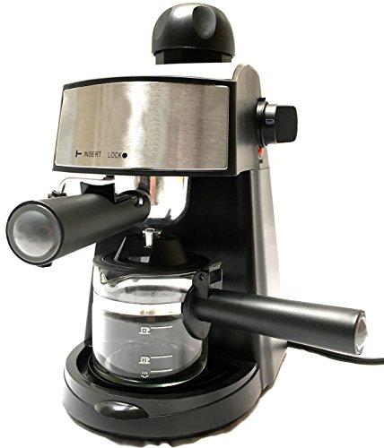 Powerful steam Espresso and Cappuccino Maker Barista Express Machine Black - Make European Espresso (Expresso Machine Portable compare prices)