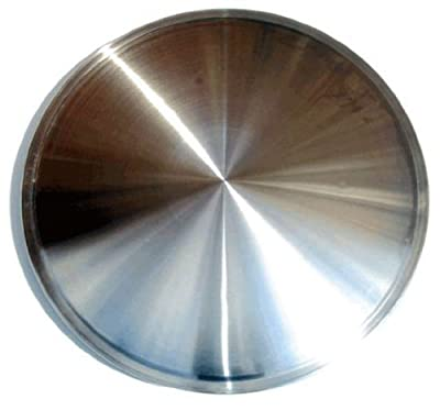 CCI IWCRD-14 14 Inch Clip On Stainless Steel Racing Disk Hubcaps - Pack of 4