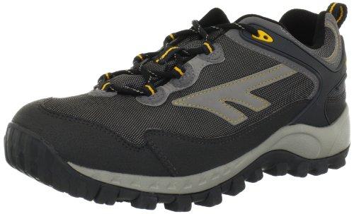 Hi-Tec Men's Raider WP Hiking Shoe,Dark Grey/Cool Grey/Yolk,13 M US