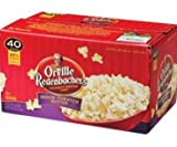 Orville Redenbachers Movie Theater Butter Popcorn - 40 Bags 25% MORE BAGS
