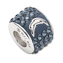 San Diego Chargers Premier Bead