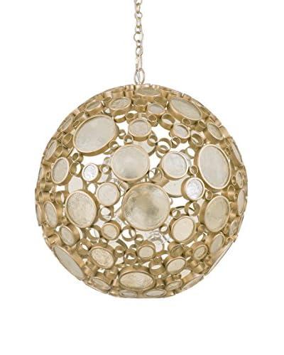 Varaluz Fascination 6-Light Orb Pendant, Zen Gold