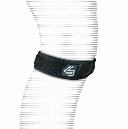 Shock Doctor Knee/Patella Support Strap (Black, Small/Medium)