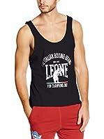 Leone 1947 Camiseta Tirantes Lsm750/Fw15 (Negro)
