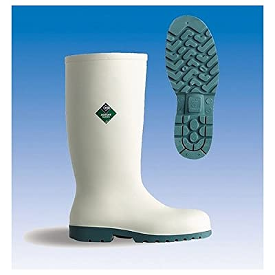 White Safety Wellingtons | Dunlop Acifort