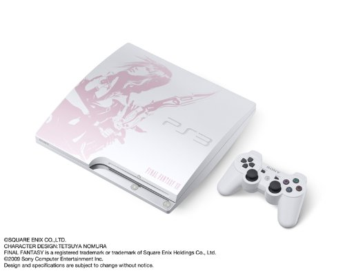 PlayStation 3 (250GB) FINAL FANTASY XIII LIGHTNING EDITION (CEJH-10008) 【メーカー生産終了】
